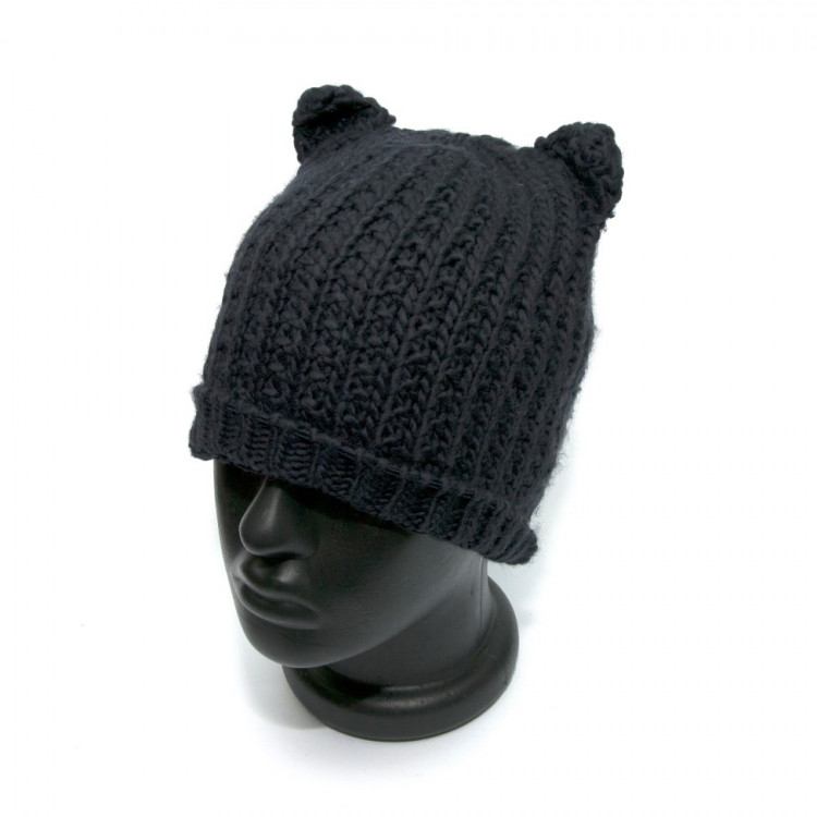 Жіноча шапка Zara темно-синя з вушками 1323-747-401 купити в Києві ... da3dd8ccff0f0