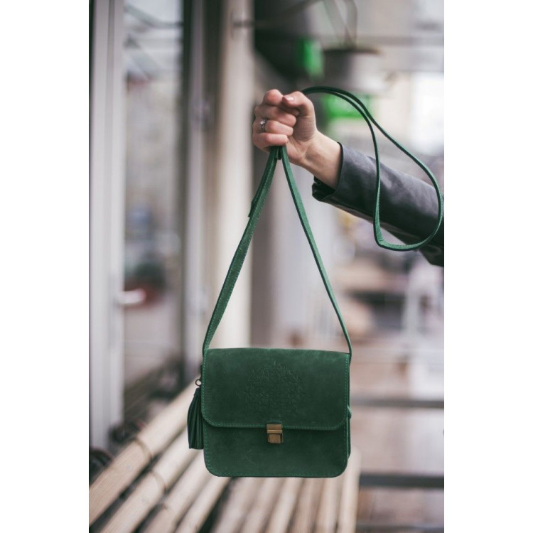 Шкіряна Бохо-сумка
