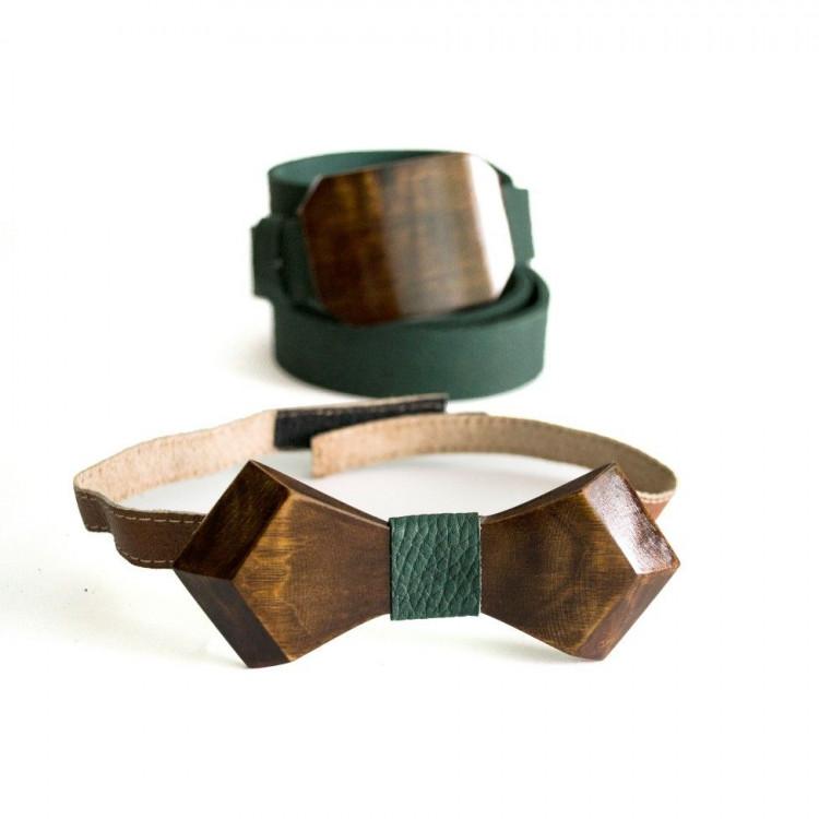 Мужской ремень с деревянной пряжкой ремень для джинсов мужской из натуральной кожи