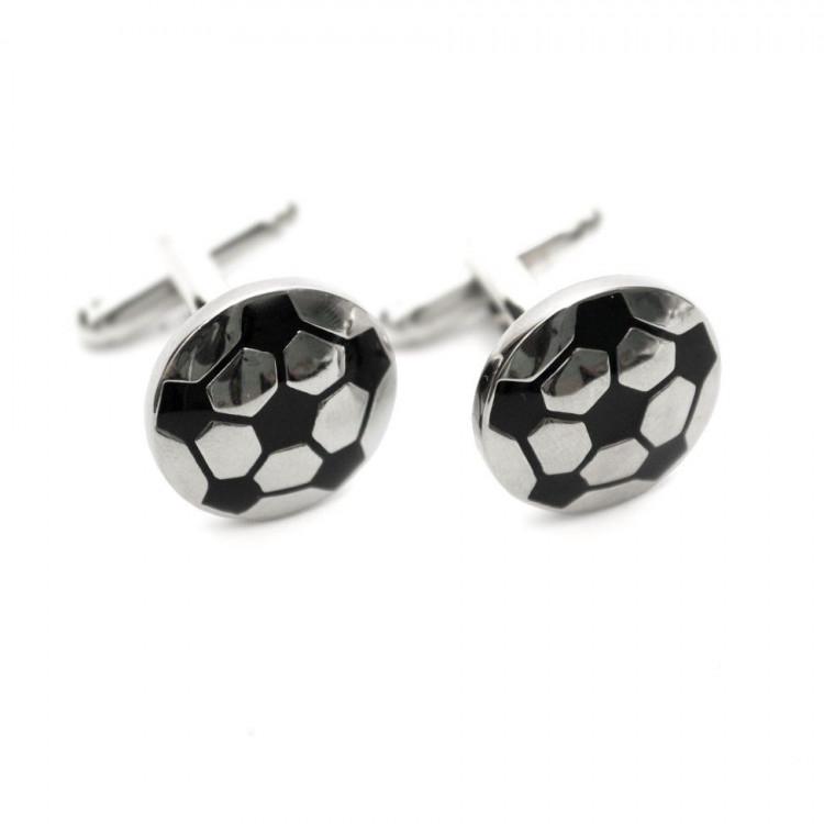 Запонки в вигляді мяча ZPH-1116 купити в Києві 44e9be6ff44d2